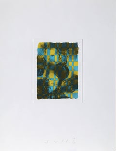 Abstract Etching with Aquatint, 1990