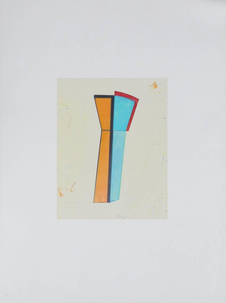 """""""VII,"""" Monotype, 1985"""