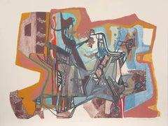 """A Boca do Mato I,"" Lithograph, 1993"