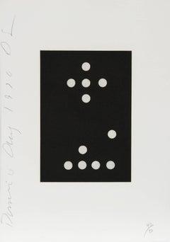 27 from the Dominoes Portfolio, Aquatint Etching, 1990