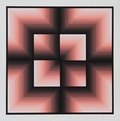 """Windows Motif,"" Serigraph, 1982"