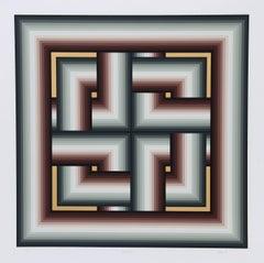 """Interchange,"" Serigraph, 1982"