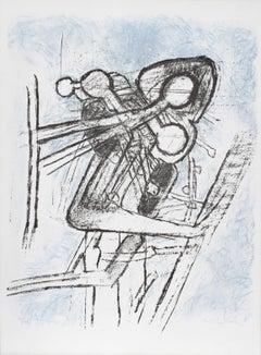 """""""Onze Formes du Doute,"""" Lithograph, 1959"""