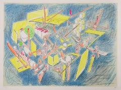 """Octravi (Homo Flux),"" Lithograph, 1974-1975"