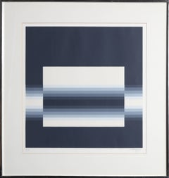 """From Light to Dark,"" Screenprint, 1968"