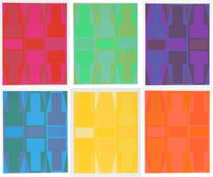 T-Series - Suite of Six Silkscreens