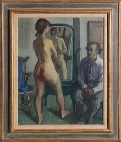 H.G with Standing Nude