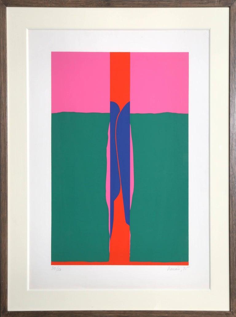 Alvaro Herran Chavez Abstract Print - Landscape #6