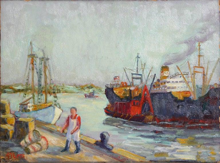 Margaretha E. Albers Landscape Painting - The Windrush