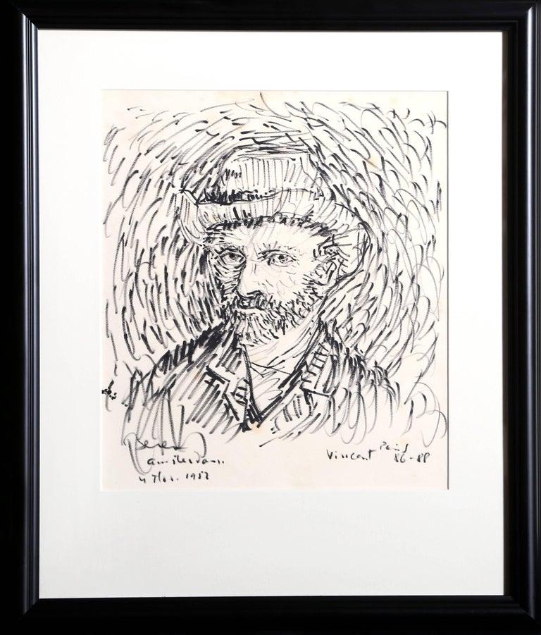 Portrait of Van Gogh - Art by Dimitrie Berea