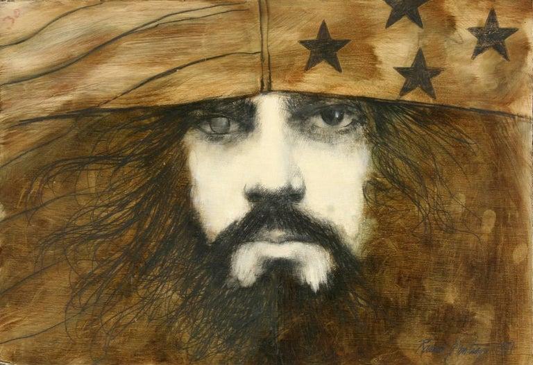 Self-Portrait (in Flag Cap)