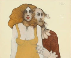 Companions, Oil Painting 1970
