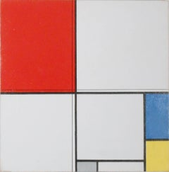 Study of Composition A (After Mondrian)