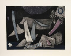 untitled, Abstract Etching