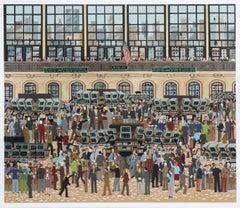 New York Stock Exchange, Silkscreen by Wooster Scott