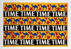 Camel Time, Silkscreen by David Reeb