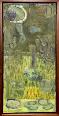 Still Life and Cornfield, Painting by Sheila Meeks
