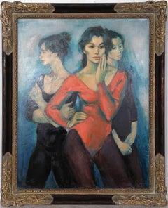 Three Dancers by Jan De Ruth