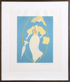 """Constance Fletcher"" Lithograph by Robert Indiana"