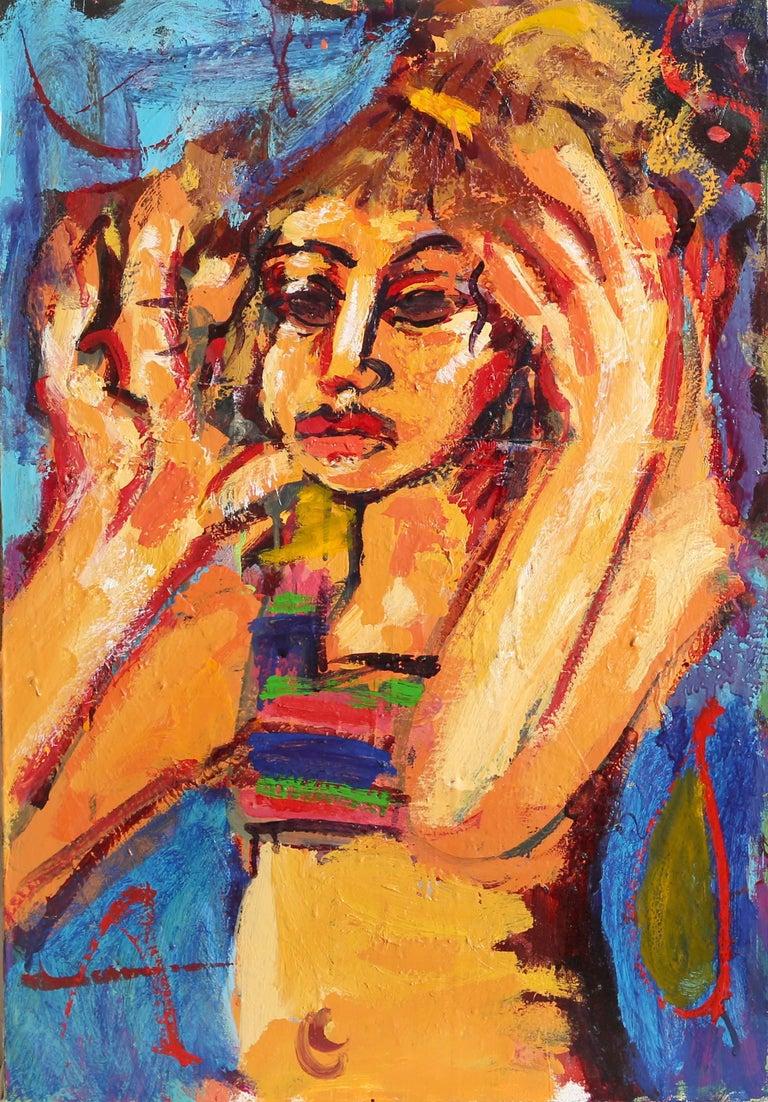 Portrait of Woman by Greg Kessler