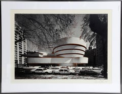 """Guggenheim Museum"" Signed Photo by Norman McGrath"