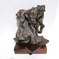 Genesis, Bronze Horse Sculpture by Jean Richardson