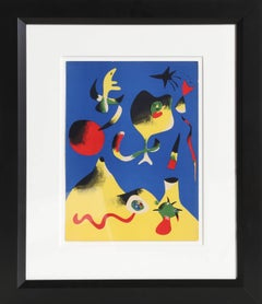 Air from Verve, Joan Miro Lithograph 1937