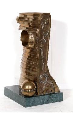 Teutonia, Bronze Sculpture, by Stefan Vladescu 1992
