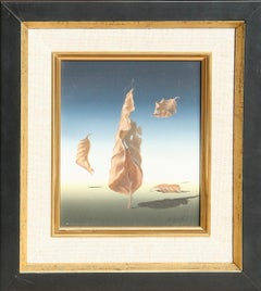 """""""Autumn Leaves"""", Surrealist Painting by Norman C. Black"""