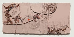 Paysage, Large Cast Paper 3-D in Plexi Box by Lebadang