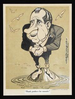 """""""Thank Goodness for Summits (Richard Nixon)"""" by Hugh Smith Haynie"""