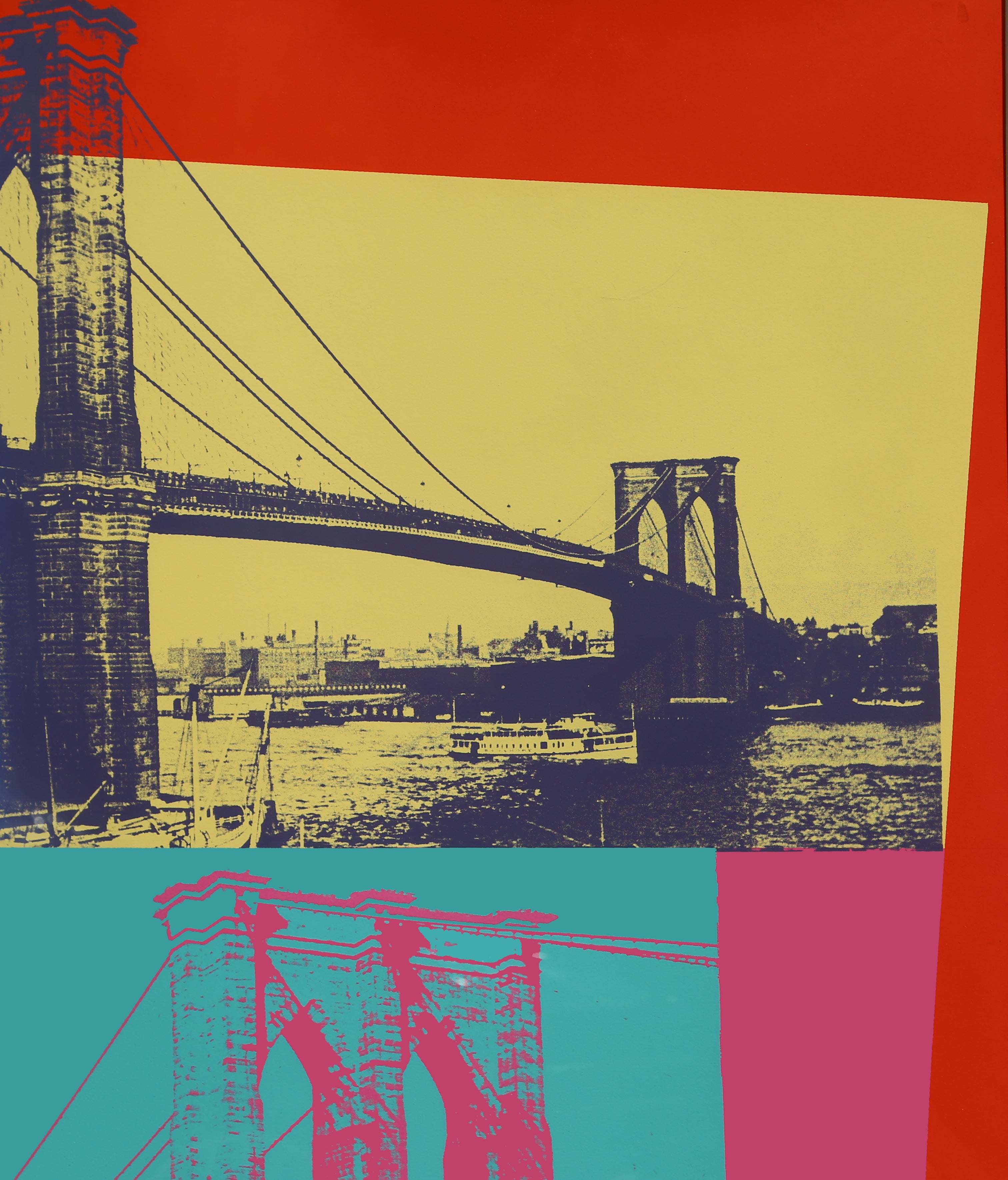 Andy Warhol - Brooklyn Bridge, FS.II.290, Screenprint by Andy Warhol ...