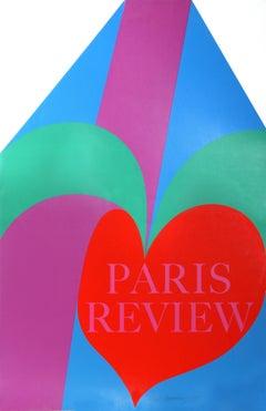 """""""Paris Review"""", Silkscreen by Carol Summers 1968"""