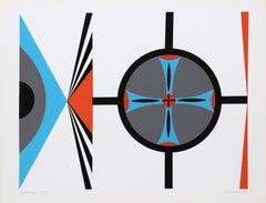 """Navaho"", 1970, Silkscreen by Dorothy Dehner"