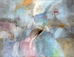 Instability, Large Abstract Painting by James Suzuki