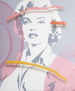 Marilyn Monroe, Painting by Jim Ceravolo