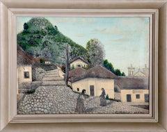 San Antonio Oriente, Honduras C.A., Oil Painting by Jose Antonio Velasquez