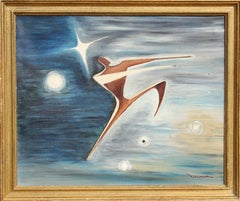 Dancer, Oil Painting by Leonard Nierman