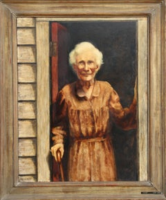 Centenarian (Grandma), Oil Painting by Harry Lane