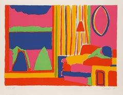 Kaleidoscope V, Serigraph by John Grillo