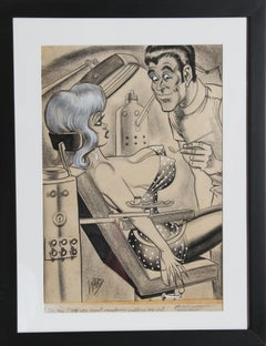 Oh Doctor! Do you think both will have to come out?, Illustration by Bill Ward
