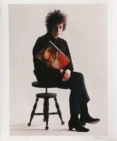 "Bob Dylan ""Greatest Hits"", Photograph by Jerry Schatzberg"