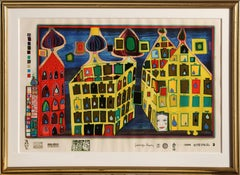 It Hurts To Wait With Love if Love is Somewhere Else by Hundertwasser