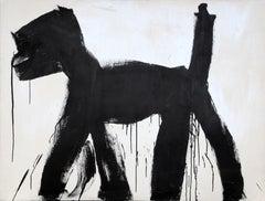 Dog (Black on White)