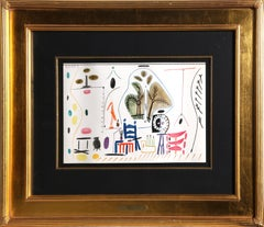 Untitled from Carnet de la Californie, by Pablo Picasso