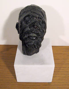 Bust of Malcolm X