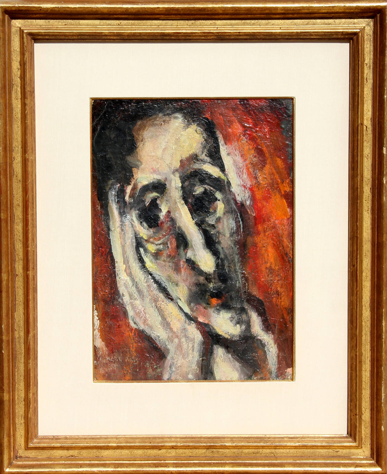 emmanuel mane katz portrait of a man painting for sale