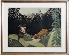 La Chasse au Tigre (after Rousseau)