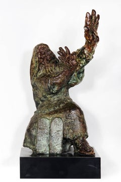 Moses, Bronze Sculpture by George Gach 1966