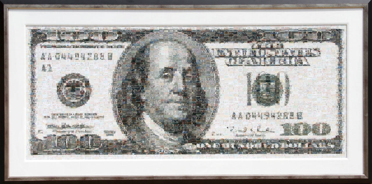Robert Silvers Color Photograph - 100 Dollar Bill